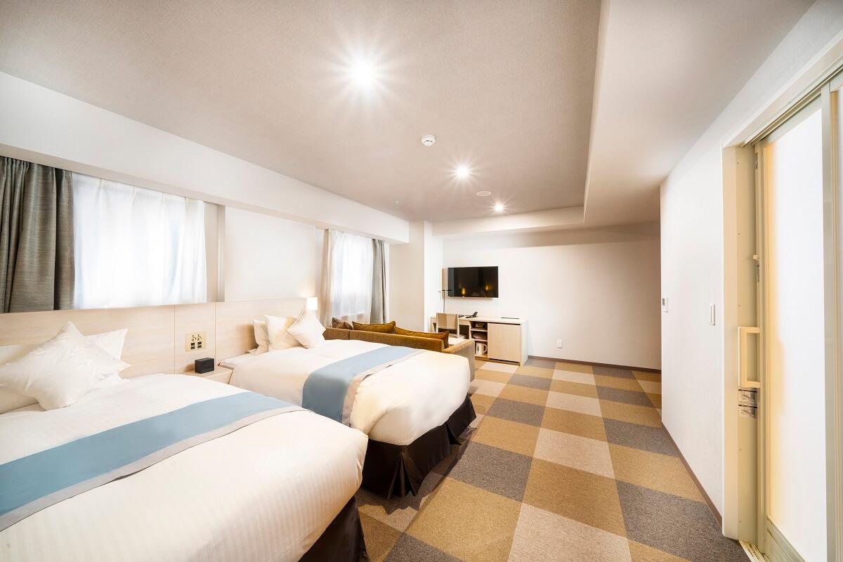 ご宿泊|【公式】フィーノホテル札幌大通デラックスツインユニバーサルデザイン